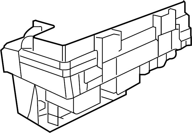 Volkswagen Routan Contour. Unit. Fuse and relay box. Amp