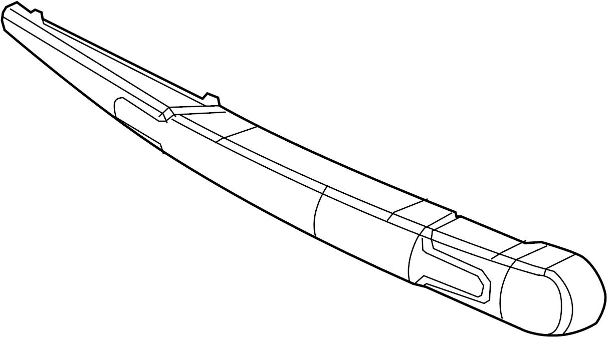 1985 Volkswagen Back Glass Wiper Blade. Windshield Wiper