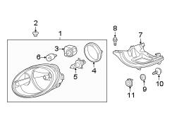 2015 VW Beetle TDI Hatchback 2.0L DIESEL A/T Parts