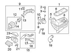 2014 VW Beetle Convertible TDI 2.0L TDI DIESEL A/T Parts