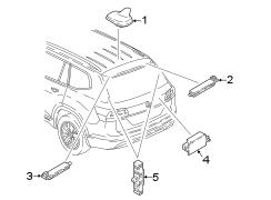 2018 Volkswagen Atlas SE Sport Utility 2.0L A/T FWD