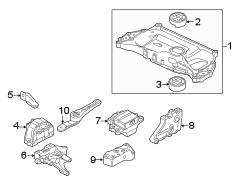 2013 VW Jetta TDI Premium Sedan 2.0L TDI DIESEL A/T Parts