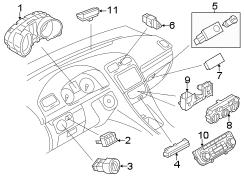 2013 VW Jetta SE Sedan 2.5L 5 cylinder A/T Parts
