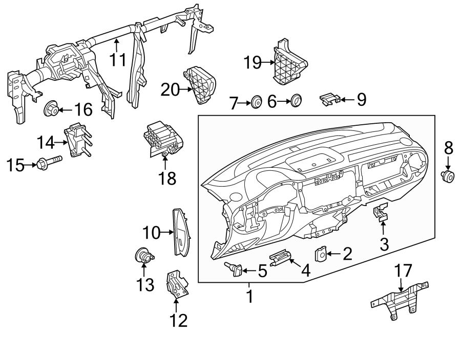 Volkswagen Beetle Grommet. Release. Cable. Convertible