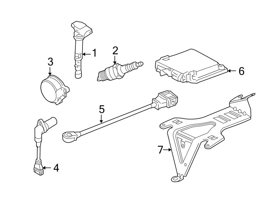 Volkswagen Jetta GLI Ignition Knock (Detonation) Sensor