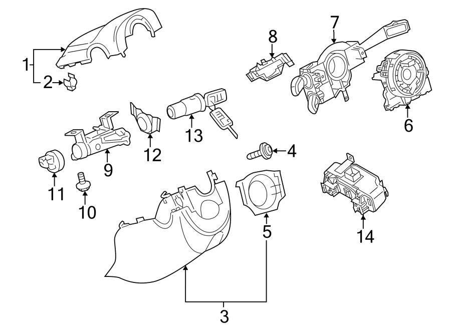 Volkswagen Tiguan Bolt. Screw. Belt. Guide. 2009-10. 2010