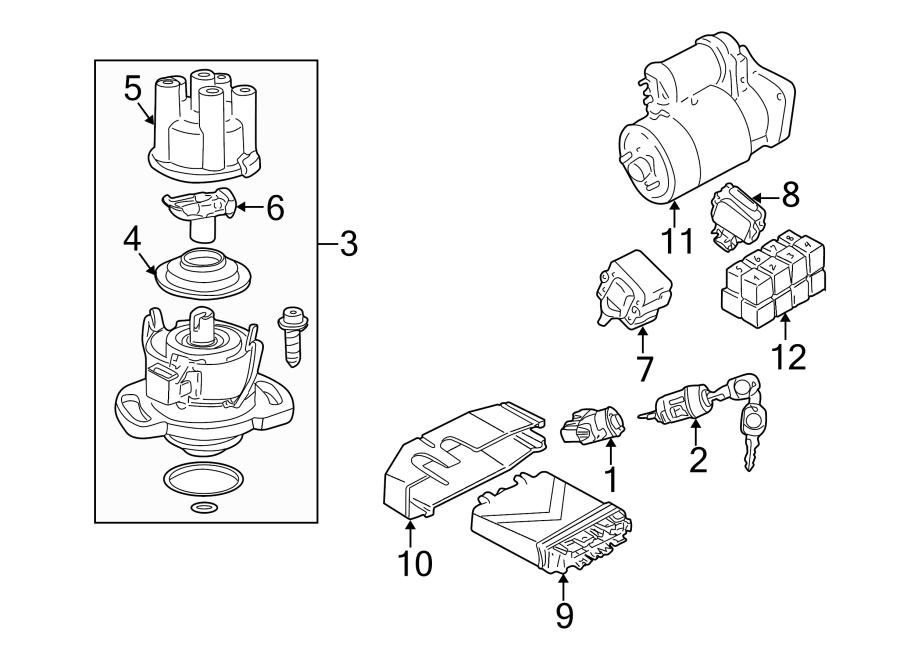 Volkswagen Cabriolet Ignition Coil. CYLINDER, LITER
