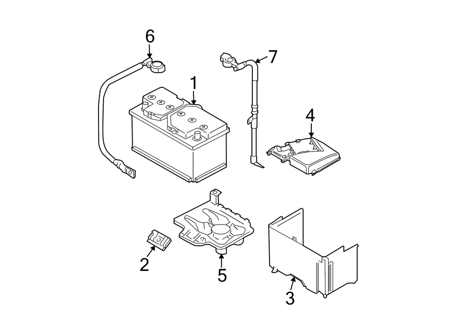Volkswagen Jetta Wagon Battery Cable. Liter, Trans, Auto