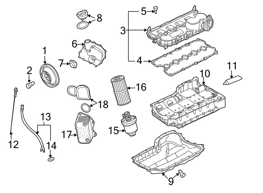 Volkswagen Jetta Engine Oil Cooler. LITER, VIN, TRANSAXLE