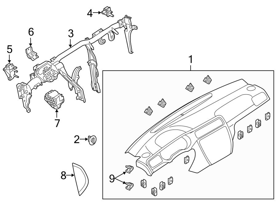 Volkswagen Jetta Hybrid Firewall Insulator. 2011-15. 2016