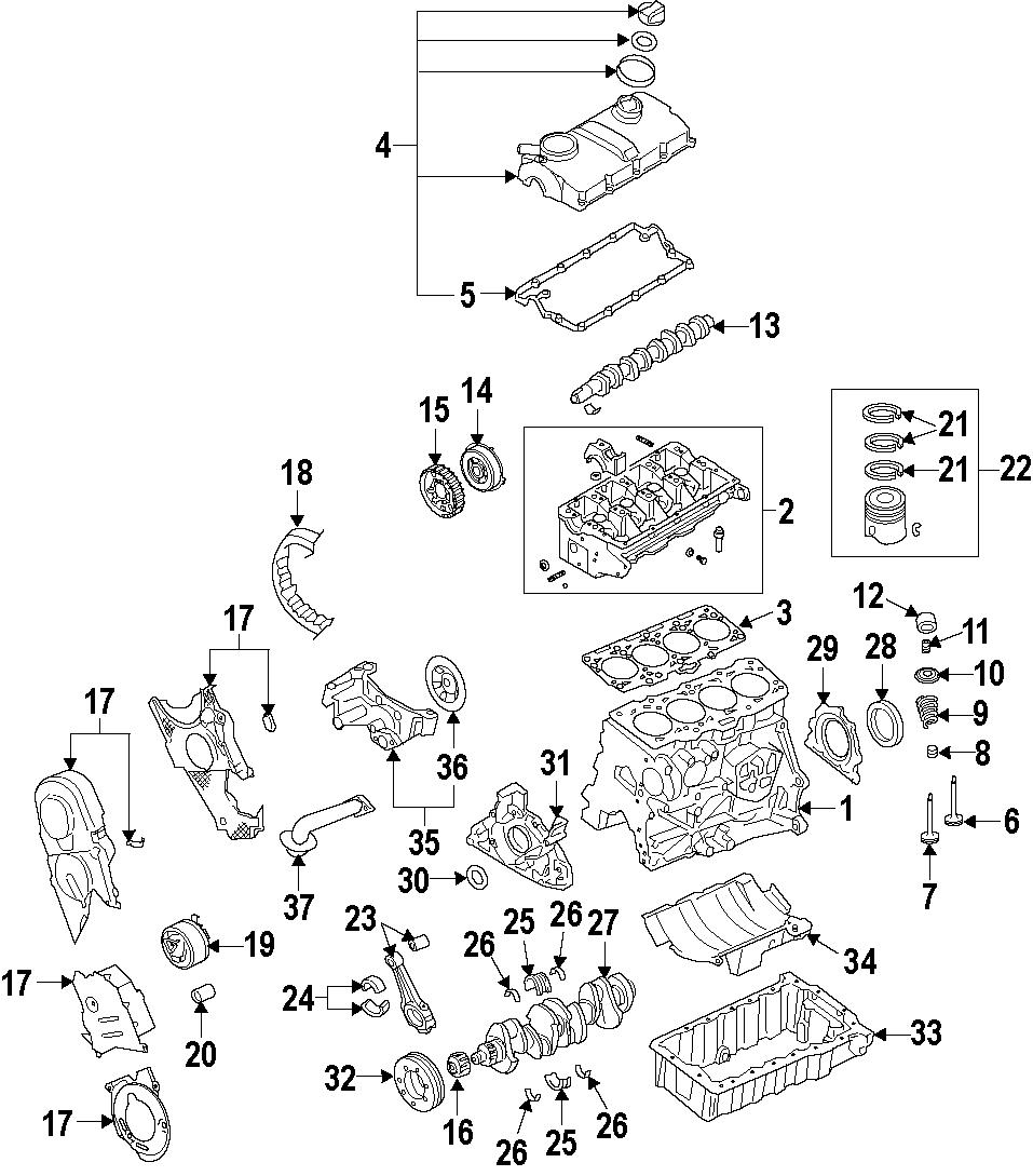 Volkswagen Golf Engine Timing Belt Idler. A3. Beetle. Golf