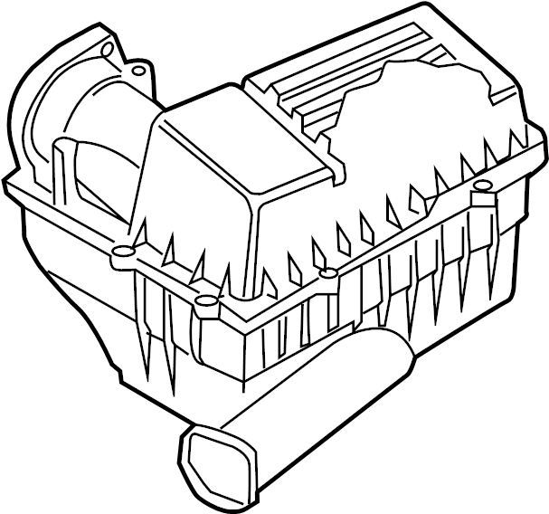 Volkswagen Beetle Air Filter and Housing Assembly