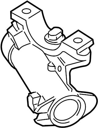 Volkswagen Beetle Convertible Lock. Ignition. Steering