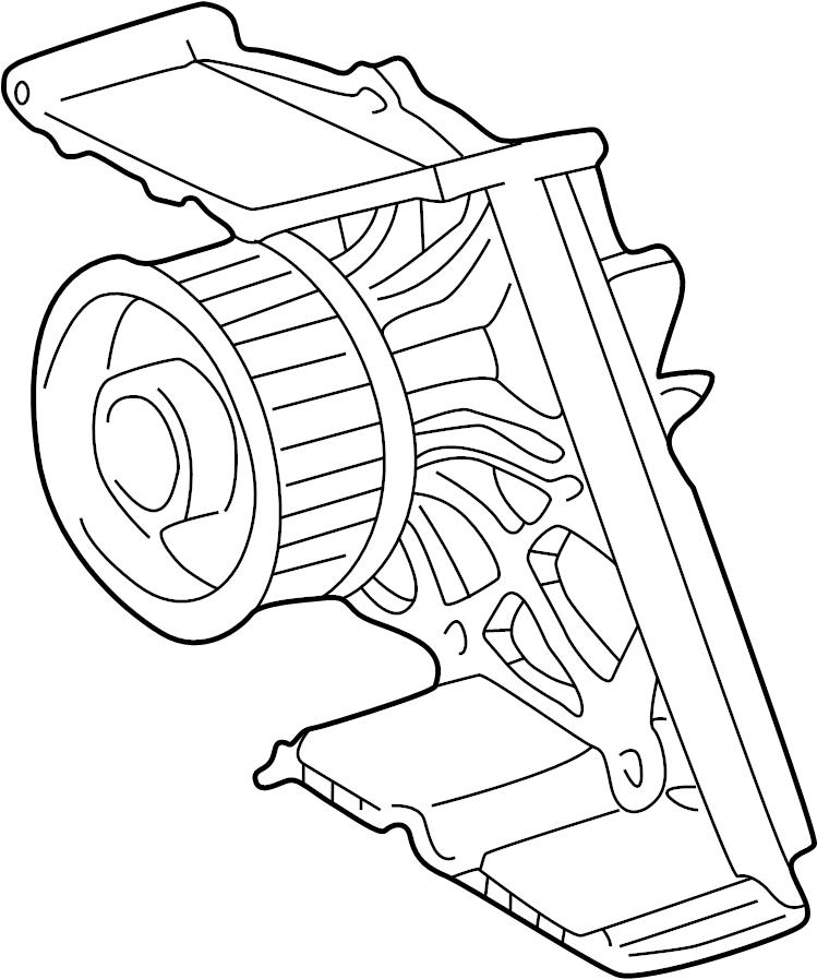 Volkswagen Passat Wagon Engine Water Pump. Liter