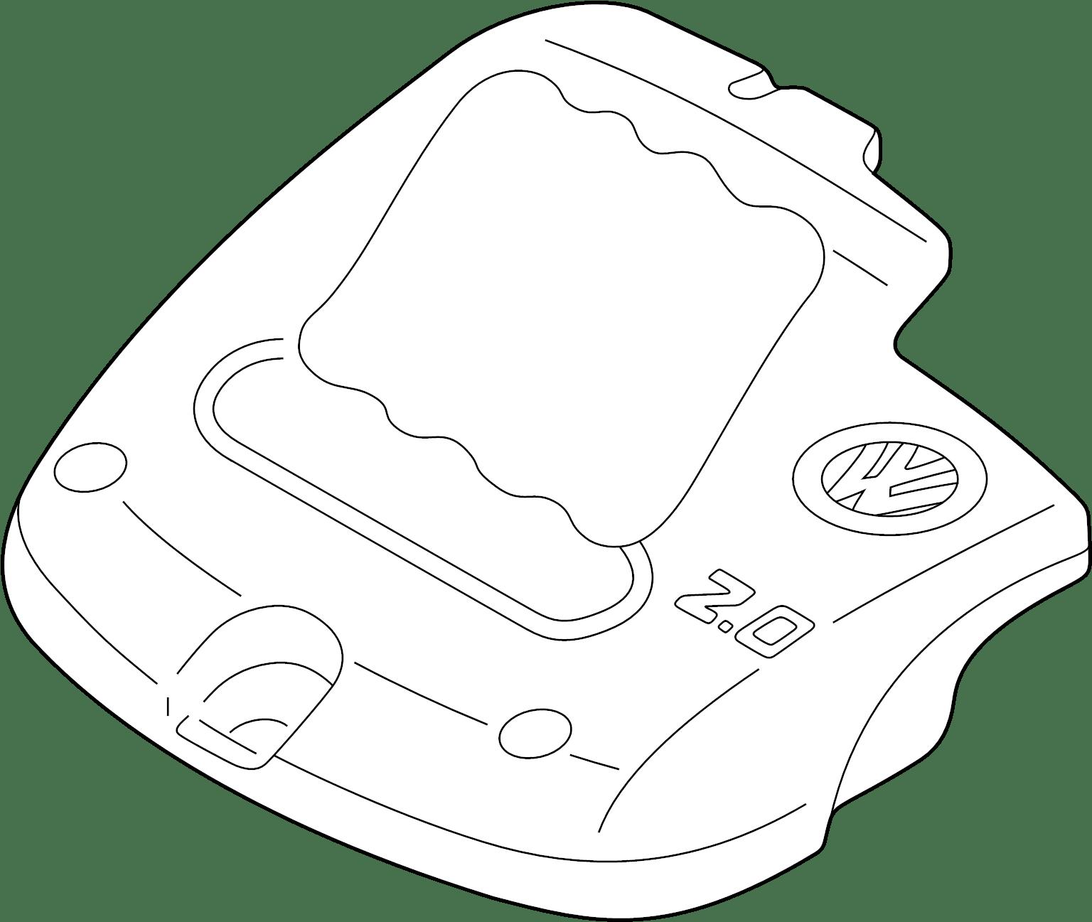 Volkswagen Beetle Engine Cover Convertible 2 0 Liter