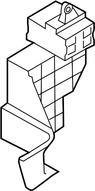 Volkswagen Touareg Fuse Box. Fuse holder slide. A