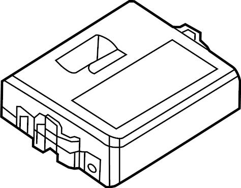 Volkswagen Jetta GLI Diagnostic Test Connector. Engine