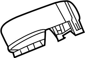 Volkswagen CC Junction Block Cover. ENGINE COMPARTMENT