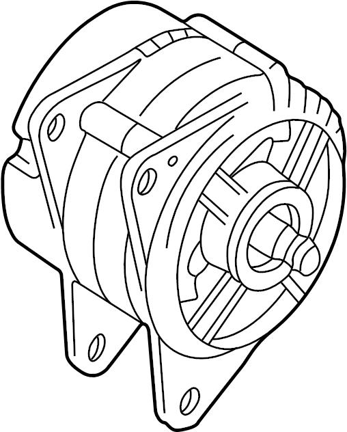 Volkswagen Jetta Alternator. Amp, LITER, Battery