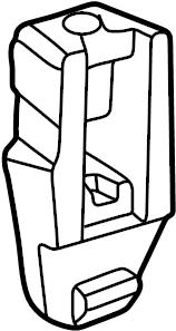 Volkswagen Vanagon Handle. Sliding. Side, glass