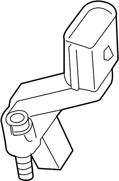 Volkswagen Passat Engine Crankshaft Position Sensor. LITER