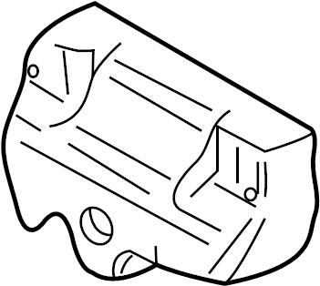 Volkswagen Jetta Wagon Exhaust Manifold Heat Shield