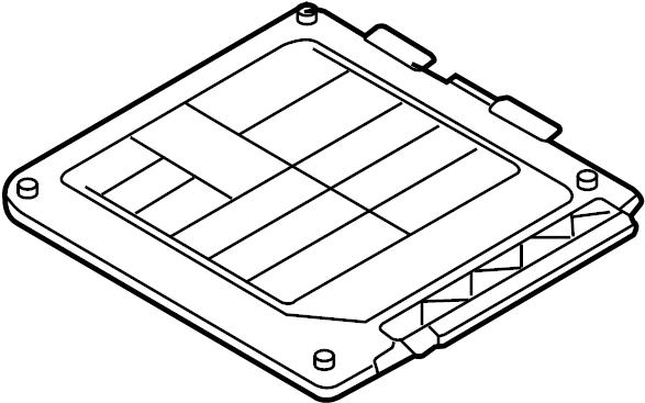 Volkswagen Jetta Engine Control Module. LITER, Auto, VIN