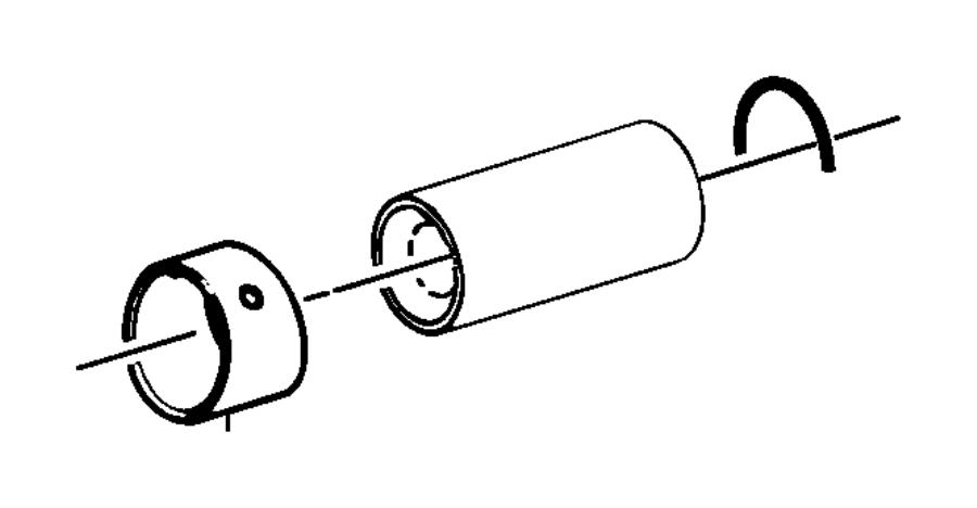 Mazda MPV Engine Piston Wrist Pin Bushing. BEARINGS