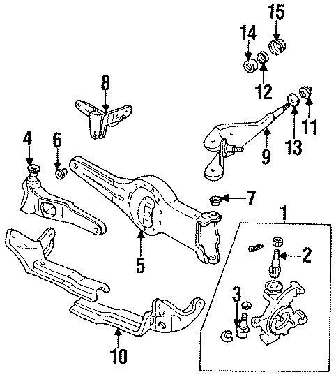 Mazda B3000 Pivot bracket. Radius arm bracket. 2WD. 4WD