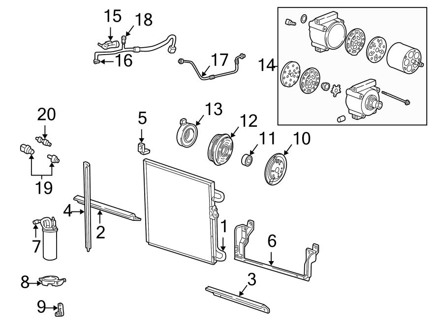 Mazda B3000 A/c refrigerant discharge hose. Conditioning