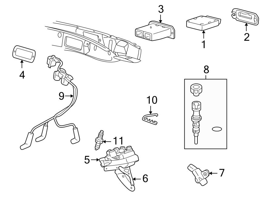 Mazda B3000 Engine Camshaft Position Sensor. Repair, Cause