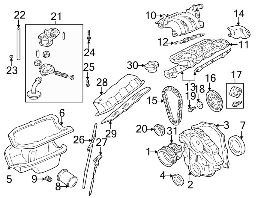 Mazda B3000 Engine Valve Cover. 3.0 LITER. B3000; Right