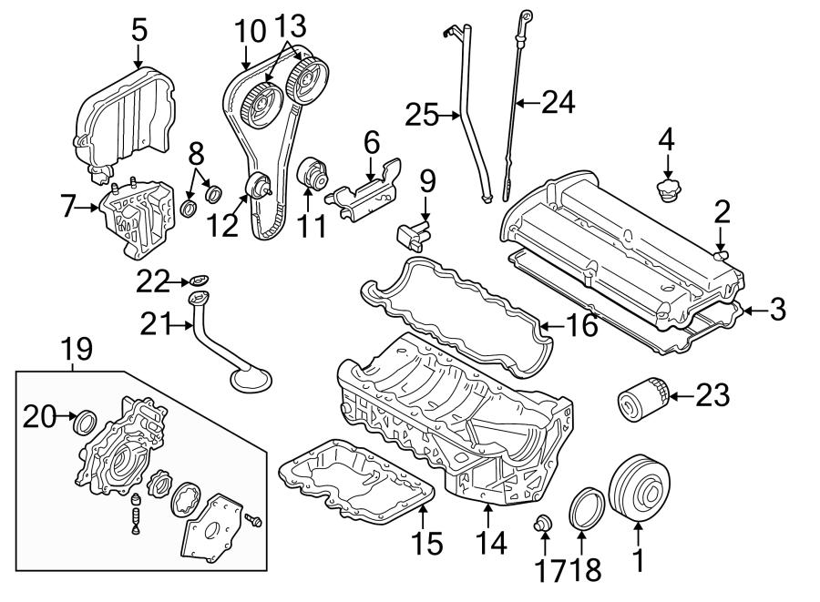 Mazda Tribute Oil. Strainer. Gasket. Engine. Pump Pickup