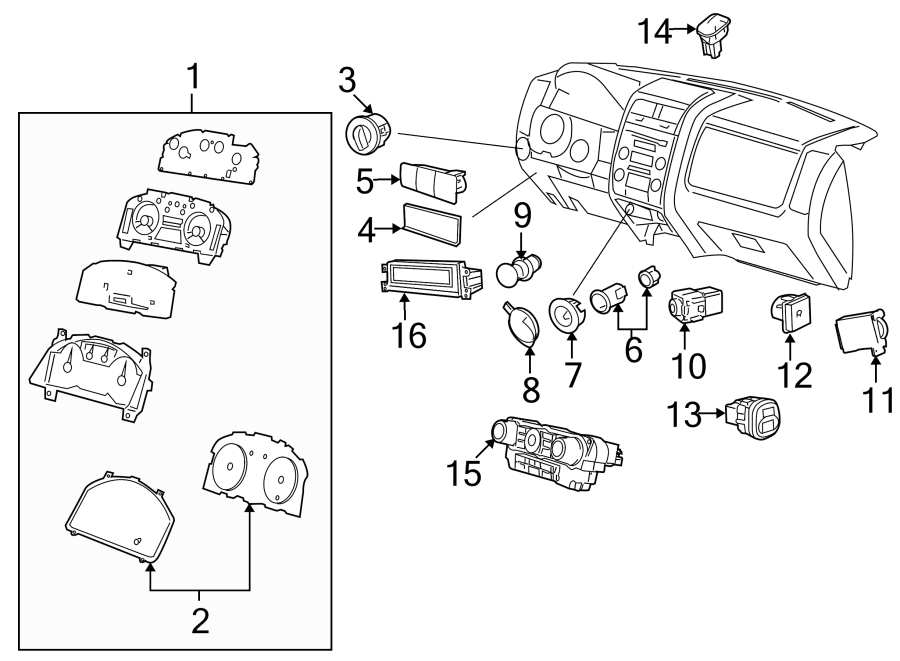 Mazda Tribute 12 volt accessory power outlet cover