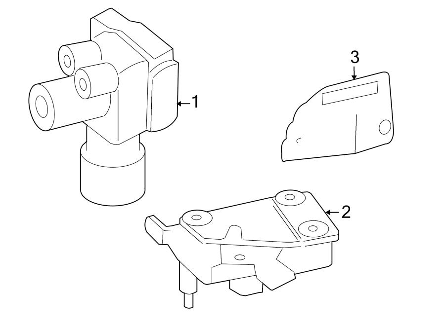Mazda Tribute Abs. Modulator. Hydraulic. 2008. An abs