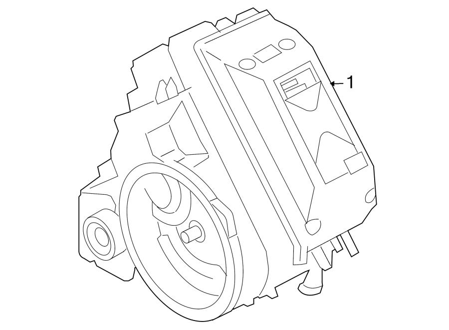 Mazda Tribute Hybrid Electric Motor and Transmission