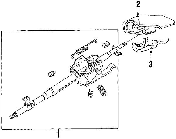 Mazda RX-7 Clmn cover. COVER, Column. (Upper). W/air bag