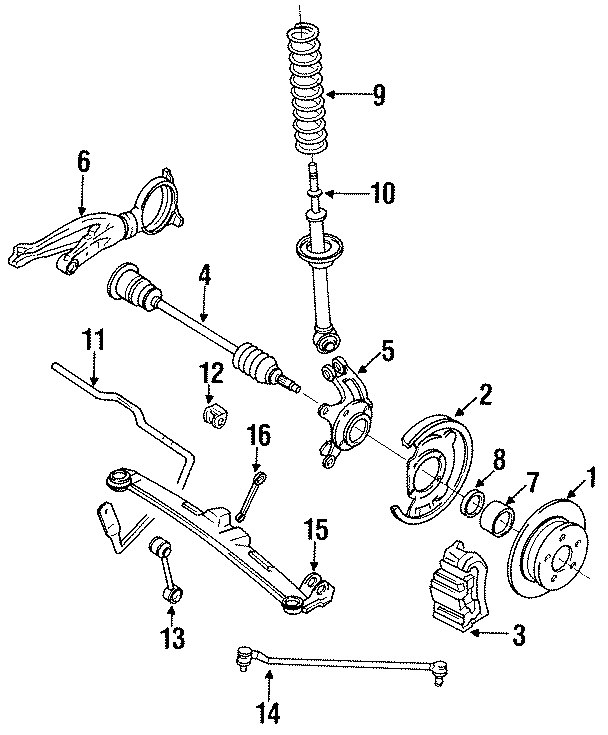 Mazda RX-7 Coil spring. Spring, coil rear (rr). Coupe. Rx7