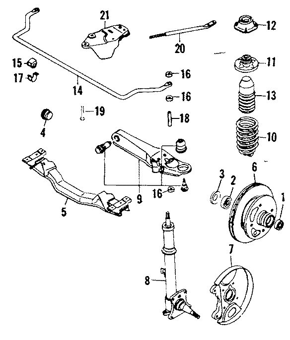 Mazda RX-7 Suspension Control Arm. Causing, FRONT, Arms
