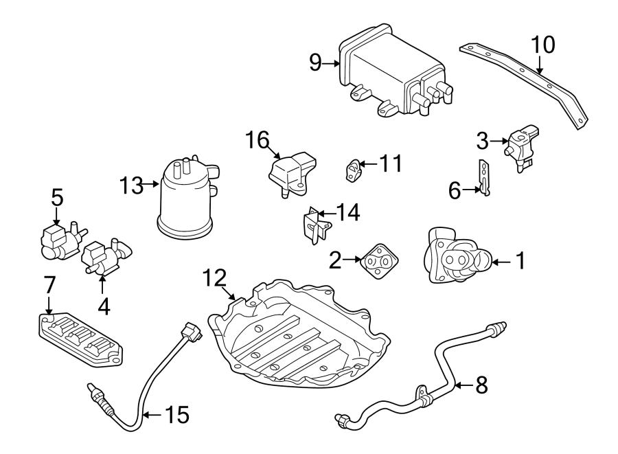 Mazda Protege5 Oxygen Sensor. EMISSION, Make, Repair