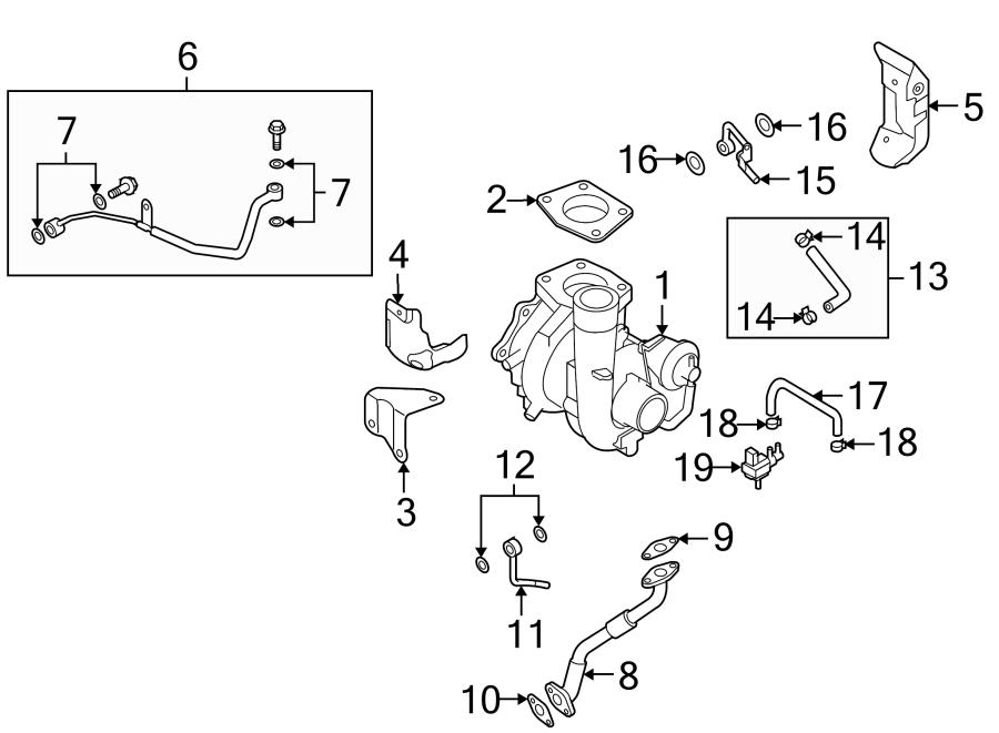 Mazda MX-5 Miata Gasket. Temperature. Sensor. (Upper