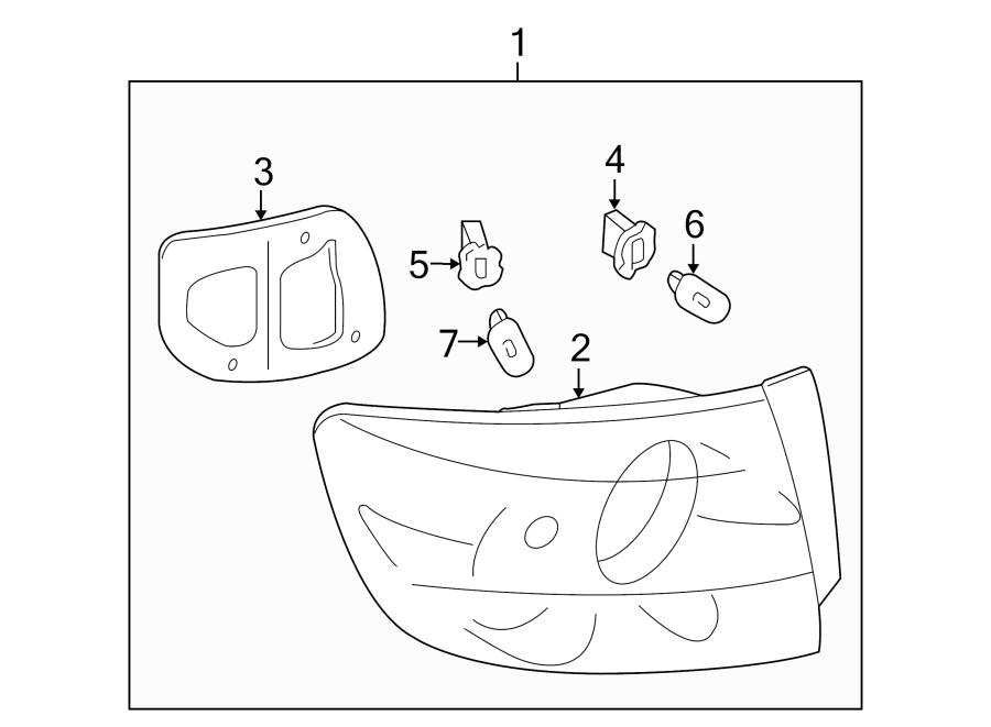 Mazda 3 Tail Light Assembly. SEDAN, all, w/o LED. LAMPS