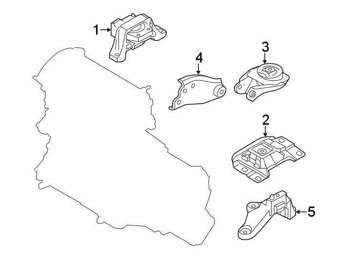 Mazda 3 Manual Transmission Mount. ENGINE, Replace, LITER