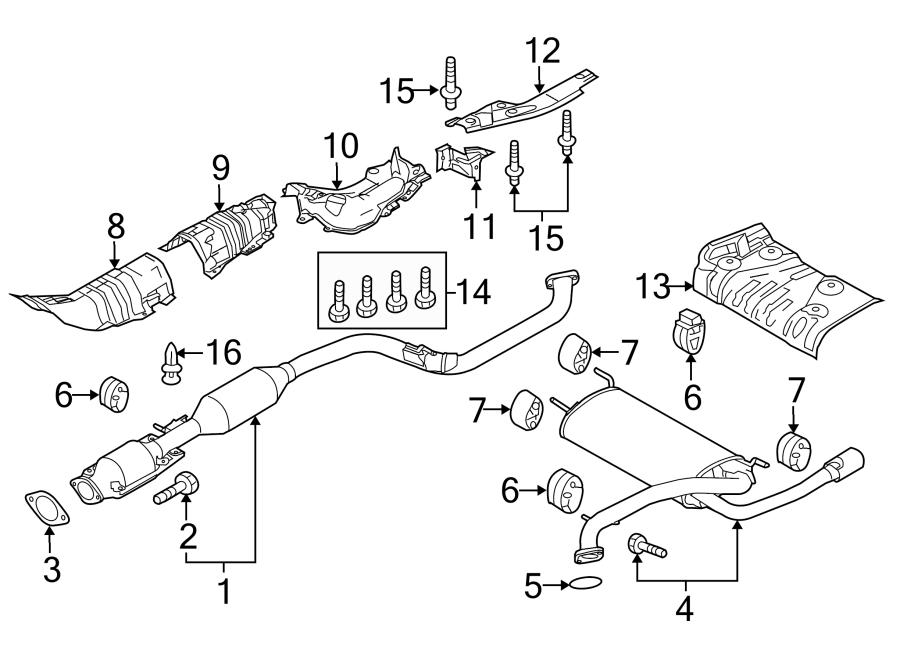 Mazda 3 Catalytic Converter. WSKYACTIV, LITER, Exhaust