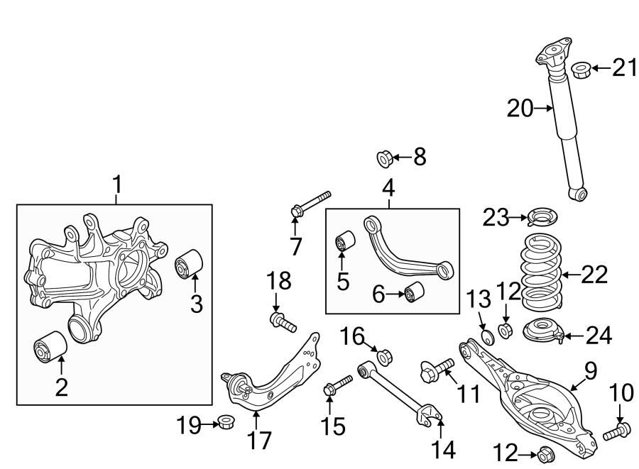 Mazda 3 Trailing. Arm. Link. (R). Suspension. (Right