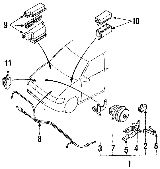 Mazda MPV Cruise Control. ELECTRICAL, Telematics, SYSTEM