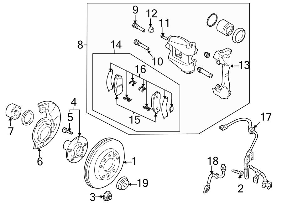 Mazda CX-9 Caliper ASSEMBLY. CALIPER RIGHT (R), FRONT