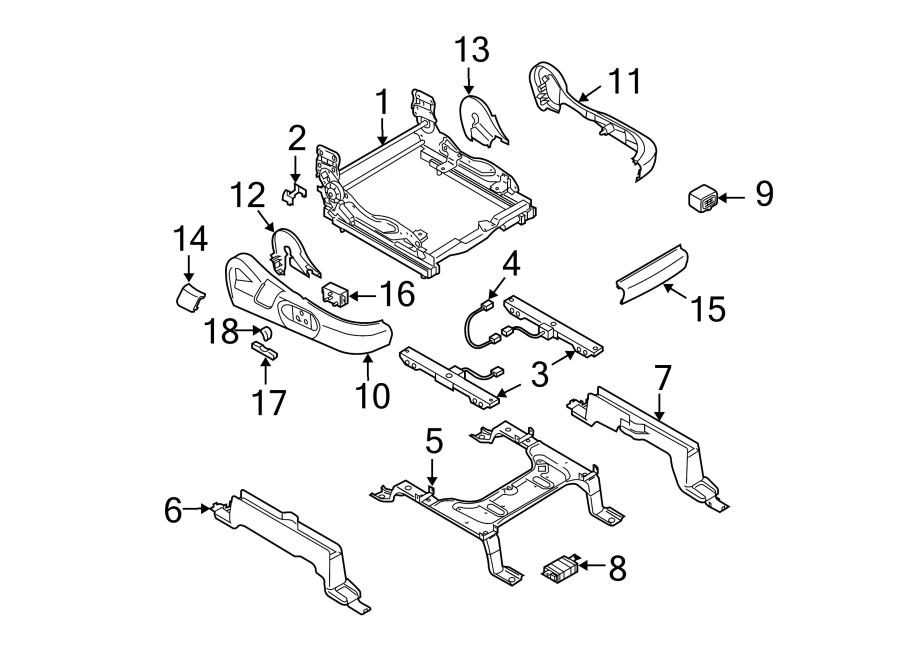 Mazda CX-9 Seat Wire. PASSENGER SEAT, W/O POWER. PASSENGER