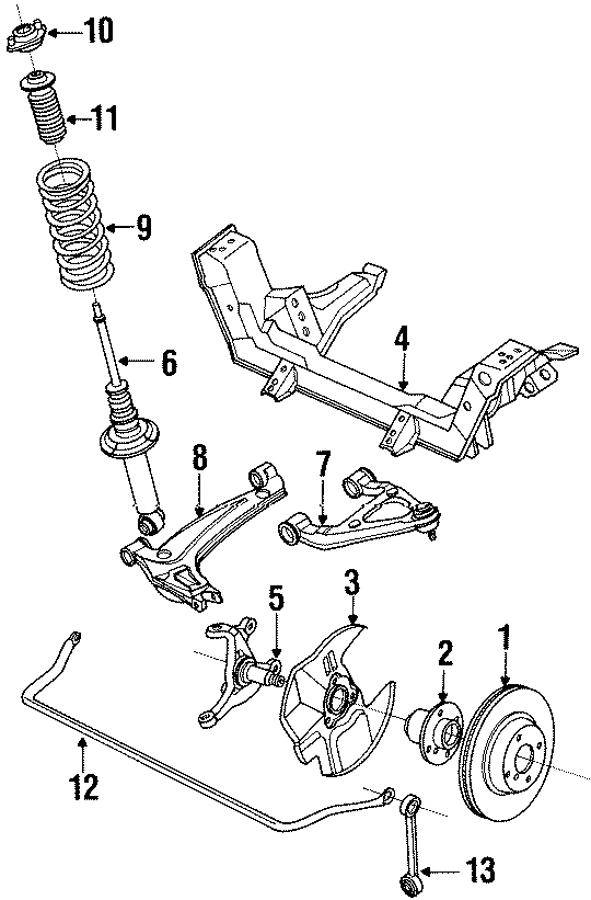 Mazda MIATA Stabilizer bar. STABILIZER, FRONT. Miata MX5