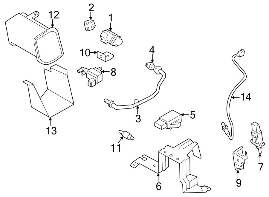 Mazda MPV Egr pressure sensor. Emission, feedback